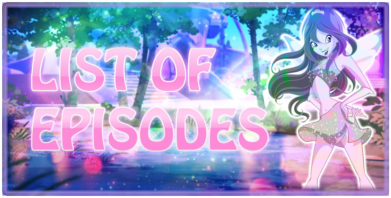 Liste des Episodes Saison 1