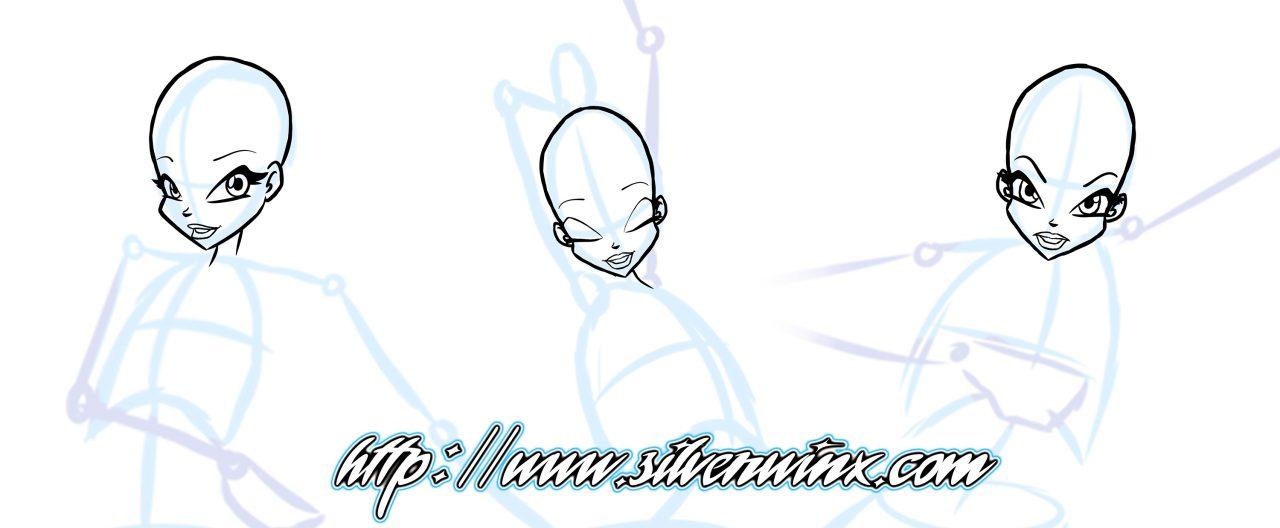 Comment dessiner une winx partie 2 silver winx - Comment dessiner les winx facilement ...