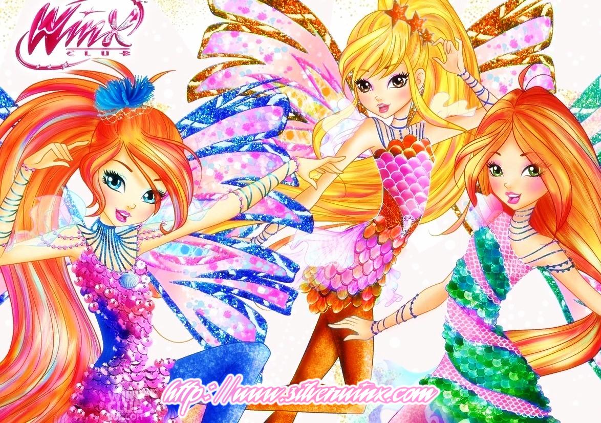 Winx Sirenix Saison 8 Coloré